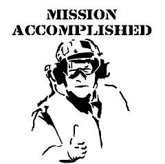 George-W-Bush-Mission-Accomplished-stencil-Iraq-Syndrome