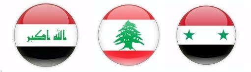 IraqLebanonSyria